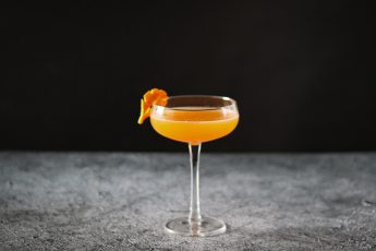django - tequila, ginger and mango cocktail
