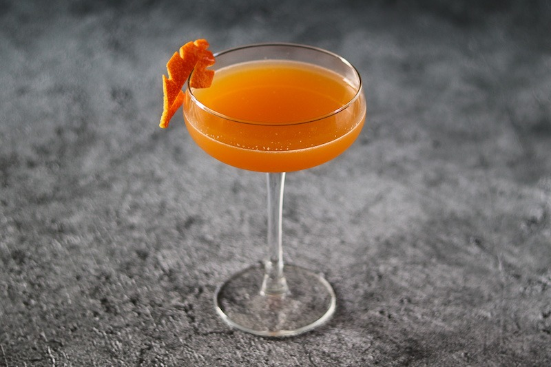 mango and tequila cocktail