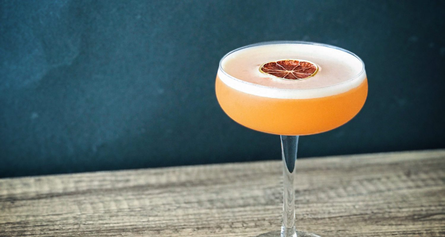 the fall coupe- gin cocktail