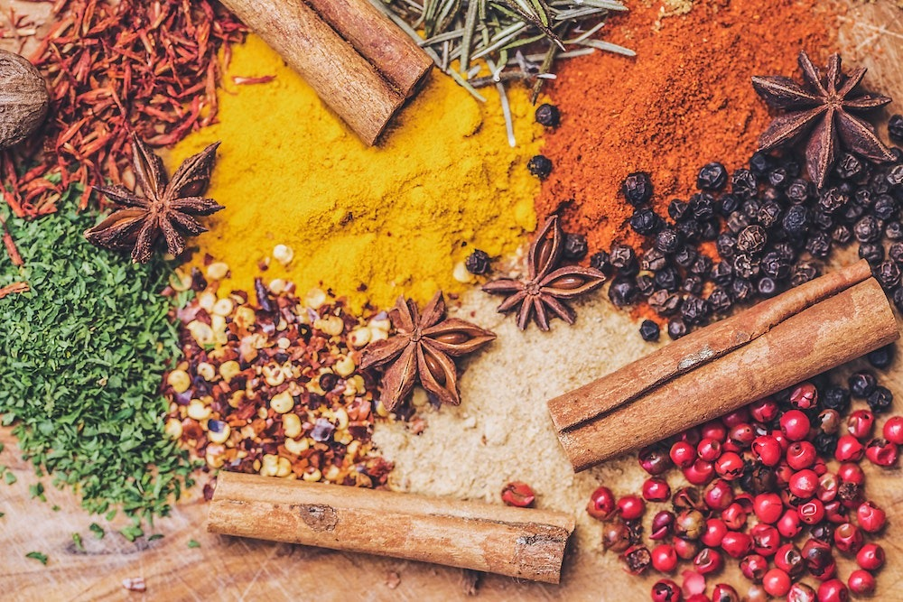 botanicals and spices infusion