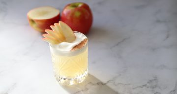 apple and caramel cocktail