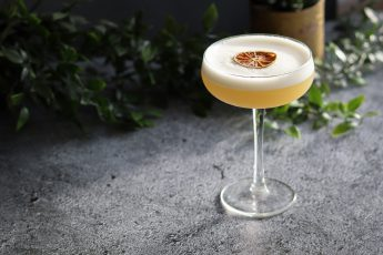pineapple and mezcal cocktail