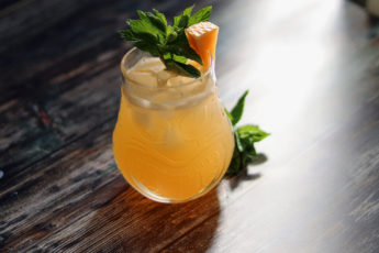 melon and rum cocktail